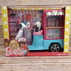 Barbie Bristo Cart 3 Wheeled Scooter